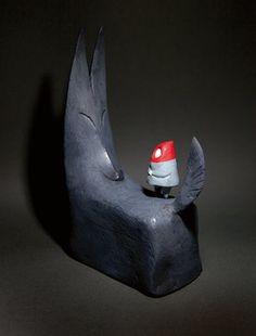 Little red riding hood - Shaun Tan (The singing bones)