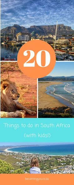 20 Best Things to Do in South Africa (with kids!) : 20 Best Things to Do in South Africa (with kids! Travel With Kids, Family Travel, Family Holiday Destinations, Travel Destinations, African Holidays, Stuff To Do, Things To Do, Adventure Tours, Africa Travel