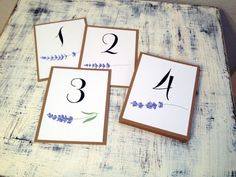 Table numbers 1-10 f...