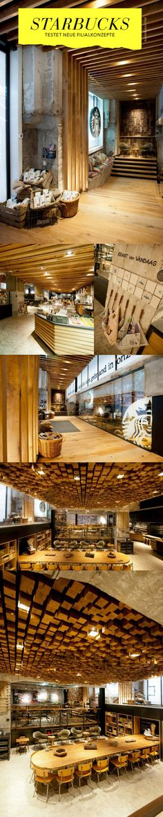 New Starbucks Concept-Store «The Bank» in Amsterdam - Beautiful!