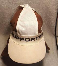 8670c1ec796 Vtg Patented Design Athletic Supporter Ornamental Sports Novelty Hat Cap  Visor
