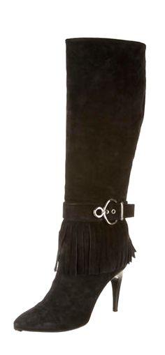 Louis Vuitton Fringe boots