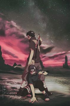 Shisui n Itachi  Best characters in naruto Itachi - best philosopher and wise Shisui - powerful, with the most powerful genjutsu (kotoamatsukami)
