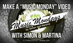 Omg I would die if I ever got to do a music Monday with Simon and Martina I love them so much