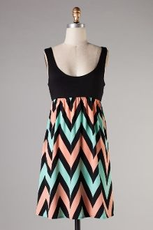 Fantabulous Short Dress www.zigzagstripe.com #chevron #zigzag #maxidress