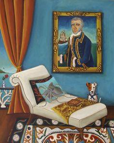 Captain Samuel Scott~New Painting, painting by artist Catherine Nolin