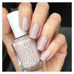 See this and similar nail polish - essie, Go Go Geisha mani @lovefreshpaint - lovely grayish, pinky-lilac putty color | nail polish / lacquer