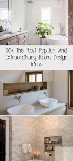 30+ The Most Popular And Extraordinary Room Design Ideas#bathroom #bathroomideas #bathroomremodel #tinybathroomWithWashingMachine #tinybathroomDIY #tinybathroomWithLaundry #Supertinybathroom #tinybathroomOrganization
