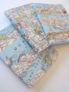 Ruby Murrays Rêveries: Façons avec des cartes Vintage - Washi Carnets de bande