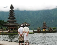Looking at the Temple - Temple, Bali