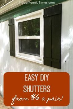 Striking bahama shutters - go look at our guide for much more plans! Home Improvement Projects, Home Projects, Backyard Projects, Outdoor Projects, Pallet Projects, Outdoor Ideas, Backyard Ideas, Woodworking Projects, Home Decor Styles