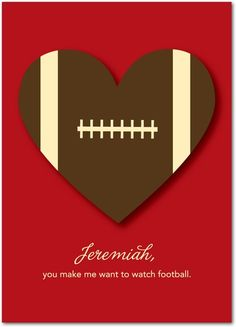 You make me want to watch football.  Now that is true love.  treat.com