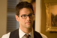 Justin Bartha as Riley from National Treasure. Yes I think he's cute! Especially for his character and nerdy moments in the movie! :)