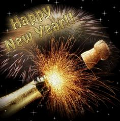 Happy New Year champagne gif graphic happy new year happy new year quote happy new year greeting