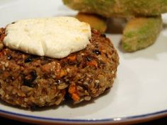 Super Hearty Quinoa Veggie Burger