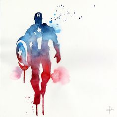 Amazing Avengers Watercolor Series - who's your favorite?