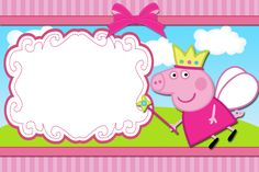 The astounding New Of Peppa Pig Invitation Card Template Ideas picture below, is segment of New Of Peppa Pig Invitation Card Template New HD article which is classed as within Fiestas Peppa Pig, Cumple Peppa Pig, Peppa Pig Princesa, Peppa Pig Birthday Invitations, Party Invitations, Invitacion Peppa Pig, Peppa Pig Imagenes, Peppa Pig Printables, Personalized Birthday Banners