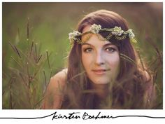 Bohemian floral headpiece by Eco Chic Blossoms. http://www.ecochicblossoms.com