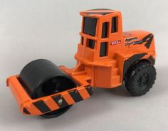 "Maisto 3"" Diecast 1/64 Highway Department Pavement Roller Tonka 2002 Hasbro #Maisto"