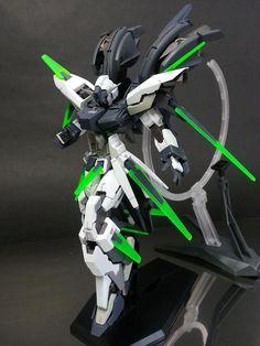 HG Gundam AGE-FX - Custom Build now that's what I call a gundam Gundam Toys, Gundam Art, Armored Core, Gundam Iron Blooded Orphans, Big Robots, Gundam Custom Build, Frame Arms, Gunpla Custom, Mecha Anime
