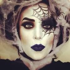 Image result for sexy spider halloween makeup