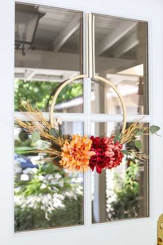 1227 best Easy Decorating Ideas images on Pinterest   Bathroom     Create this simple and easy fall embroidery hoop wreath for under  30