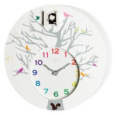 I'm cuckoo for cuckoo clocks! (Albeit this one is all modern and artsy fartsy)