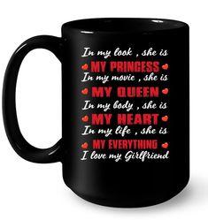 Valentine gift for girlfriend Valentine Gifts For Girlfriend, Valentines Day Shirts, Me As A Girlfriend, Love My Husband, My Love, Valentines Day Massacre, American Wirehair, Best Valentine Gift, Best Valentine's Day Gifts