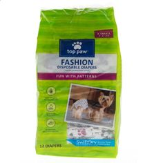 Dog Diapers - Top Paw Designer Dog Diaper | Potty Training | PetSmart