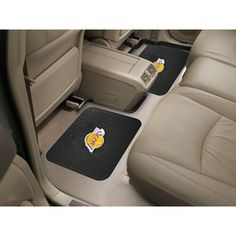 Los Angeles Lakers NBA Utility Mat 14x17 2 Pack