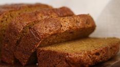 VEGAN PUMPKIN BREAD  Great texture and taste that is not too sweet. Whether it is for a crisp autumn day or rainy summer morning, this bread will please a crowd.