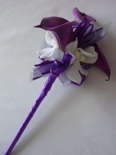 My Flower Girl fairy wands!