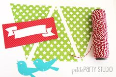 We know, we know…the holidays are over BUT…we have been busy gearing up for 2013 and getting ready to roll out Valentine's Day.  So, before we forget, here is a DIY we did that is perfect for the holidays or you can change the colors and these would be super sweet for a baby shower! …
