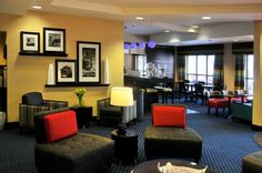 Hampton Inn Glenwood Springs Hotel Lobby Seating