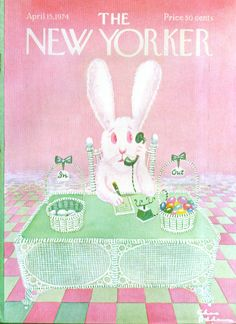 Happy Easter! @Matty Chuah New Yorker, 1974