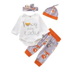 EISHOW Cute Infant Newborn Baby Girls Heart Pattern Tops Hoodies Sweatsuit Long Pants 2Pcs Outfits Casual Clothes Set