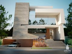 Olivos House Arquitectos, via Behance