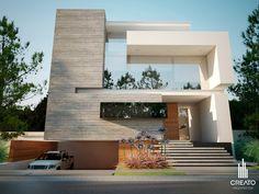 Olivos House Arquitectos, via Behance