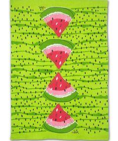 Vera Neumann Watermelon tea towel