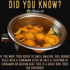 The best recipes, meal plans, diet advice, tips, natural remedies and much Weight Loss Meals, Simple Life Hacks, Useful Life Hacks, Boil Orange Peels, Good To Know, Did You Know, Zero Calorie Foods, Natural Air Freshener, House Smells