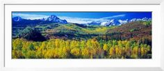 San Juan Mountains, Colorado, USA Framed Photographic Print by Panoramic Images at AllPosters.com