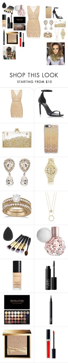 """""""Untitled #71"""" by eldrianmcdonnell ❤ liked on Polyvore featuring Nicole Miller, Yves Saint Laurent, Casetify, Dolce&Gabbana, Rolex, Allurez, Kate Spade, Gucci, NARS Cosmetics and Burberry"""