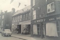 Princess Street - Fine Fare and Woolworths, and Albert and James Webster shoe shop. Cheshire England, Shoe Shop, Historical Photos, Old Photos, Shops, Lost, Princess, Street, Nice