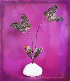 Πεταλούδες μία πολύ ωραία σύνθεση για δώρο.
