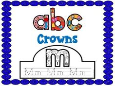 Letter Recognition, Beginning Sounds, Letter Formation, Fine Motorare all reinforced using these Alphabet Crowns!Feel Free to print and use the preview!ABC Letter Sound WorksheetsLetters A-Z Emergent ReadersLetter A Emergent Reader -Freebie