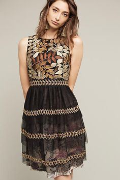 Love love love this! Embroidered Vigne Dress - anthropologie.com