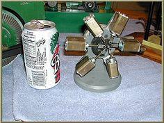 6 Cylinder Handmade Oscillating Radial Steam Engine