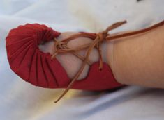 Alpujarra baby shoes by AlltoLeather