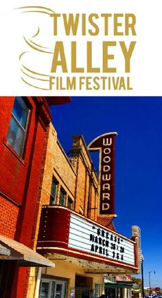 Held at the beautiful Woodward Arts Theatre in northwestern Oklahoma, the Twister Alley Film Festival welcomes filmmakers from around the world for three great days of screenings. There will also be panels, opportunities for discussion, parties and more.