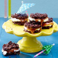 Caramel Cheese Choco Crossies
